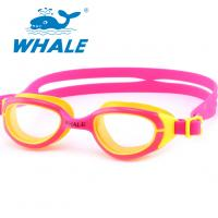 Professional Silicone Swimming Goggles Scratch Resistant , No Leaking Manufactures