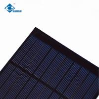 China Rohs CE 5V High Efficiency Output epoxy solar panel photovoltaic 1.2W ZW-100100 Eco Friendly for garden light on sale