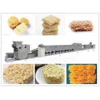 China 1 - 3T Weight Instant Noodle Making Machine Silver Color 23*1.5*1.8m Size on sale