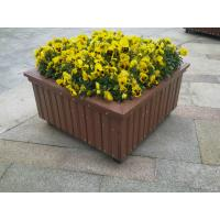 Recyclable Railing Wood Plastic Composite Flower Box for WPC Outdoor Furniture Manufactures