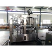 3 In 1 Sus304 Glass Bottle Filling Machine For Craft Brewery Carbonated Drink Manufactures