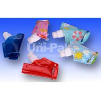Colourful Collapsible Water Bags With Spout For Drink The Water
