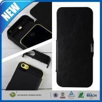 China IPHONE 5C Cell Phone Battery Case Viewing Stand , iPhone 5s Case With Battery on sale