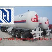 SINOTRUK 58000L Bulk Cement Tank Carrier Trailer with Bohai air compressor SGS Approval Manufactures