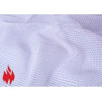 Quality Flame Retardant Mesh Fabrics, washable, high tenacity, different patterns for sale