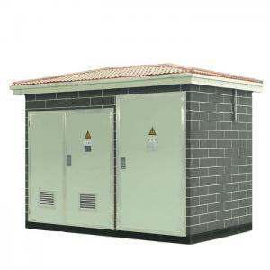 China European Type Prefabricated Substation Pad Mounted Transformer Substation on sale