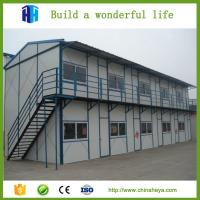the one bedroom steel frame prefab house designs for kenya China factory Manufactures