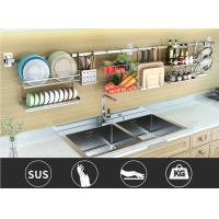 Window Mounted Storage Stainless Steel Dish Drainer Shelf With Big Space Manufactures