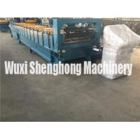 High Speed Aluminium Sheet Roof Tile Forming Machine / Cold Roll Former Manufactures