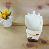 China Various Size Accepted Paper French Fries Box , Food Grade Paper Box Stable on sale