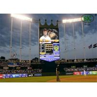 Flexible Moving Outdoor Video Screens P10 With Module 160mm x 160mm Manufactures