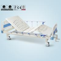 2 Functions Medical Hospital Bed For Bedridden Patients Metal Material Manufactures
