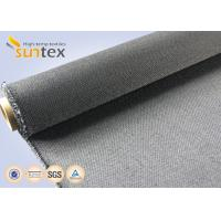 30oz Weave - Lock Fire Resistant Fiberglass Fabric Flame Resistant Fabric 550C Manufactures