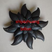 China wrought iron leaves and flowers design for stairs(078.02.000) on sale
