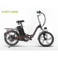 Steel Suspension Frame Folding Electric Bike City Folding E Bike Durable Manufactures
