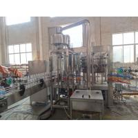 PET Bottle Carbonated Drink Filling Machine / 8Kw Power Drink Canning Machine Manufactures