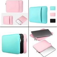 China Casual Neoprene Laptop Sleeve Bag Rusable Zipper Closure For Apple Ipad MacBook on sale