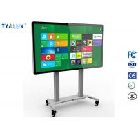 "84"" LCD Interactive Touch Screen Display  All in one PC TV for Conference  and Education Manufactures"