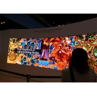 1000 nits brightness high definition P1.8mm indoor advertising led display video wall for high end customers & markets Manufactures