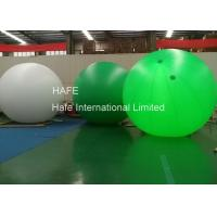 4m 5m 6m LED Helium Balloon Lights , Event Ad Glow In The Dark Helium Balloons Manufactures