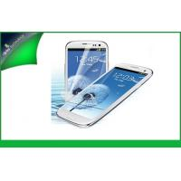 Mirror Samsung Galasy S3 I9300 Cell Phone Screen Protector 100% UV Protection Manufactures
