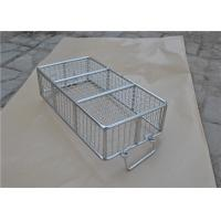 304 316 316L Stainless Steel Metal Wire Basket With Polishing Food Grade