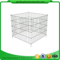 Single Bin Wire Composter Heavy - Gauge , Powder - Coated Steel Wire Manufactures