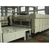 Quality Flexo Printing Automatic Corrugated Box Making Machine , Slotting Machine for sale
