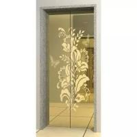 Elevator Cabin Decoration Stainless Steel Door Plates for sale