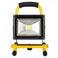 China 20W Rechargeable LED Flood Light Portable Emergency Lights Outdoor Floodlights with Battery on sale