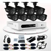 China 8 Channel Wireless Home CCTV Camera Kit / Surveillance DVR Kits With 700TVL IR-cut on sale