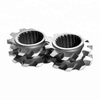 China Laboratory Mixing Screw Element For Plastic Film Blowing Extruder Machinery on sale
