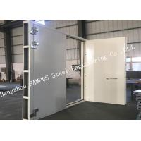 Explosion Proof Steel Framed Blast Door Industrial Garage Doors For Governments And Banks Manufactures