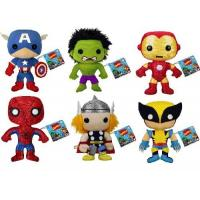 20cm Small Cartoon Stuffed Plush Toys Marvel Comics the Avengers Stuffed Toys for Boys , Girls Manufactures