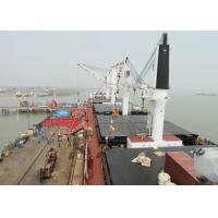31m Offshore Marine Cranes Electric Hydraulic Telescopic Boom With 360 Degree Rotation Angle Manufactures