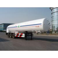 26000L-3 axles -Cryogenic Liquid Lorry Tanker for Liquid Oxygen Manufactures