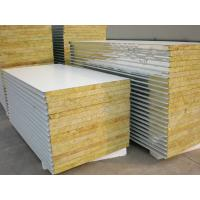 Rock Wool Insulated Steel Prefab House For Steel Structure Panels Manufactures