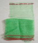 Tubular Knitted Mesh Netting Bags , Polyester Drawstring Bag Long Lifespan Manufactures