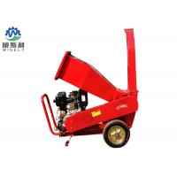 Hitch 3 Point Wood Chipper Machine With 15hp Diesel Engine Electric Start Manufactures