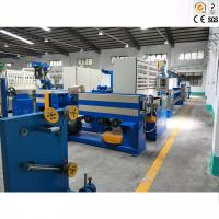 Electric Copper Wire Cable Extrusion Machine For LDPE / Nylon / Plastic Manufactures