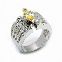 925 Sterling Silver Ring, Customized Designs are Welcome Manufactures