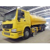 China Square Type Oil Tanker Vehicle , 6x4 Water Transport Truck With Tank ZZ1257M4647C on sale