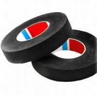 China Wire Harness Cloth Tape for Automotive, Made of PET Polyester to Replace PVC Cable on sale