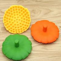 Easy To Use Silicone Face Brush , Angular Blush Silicone Face Scrubber Manufactures