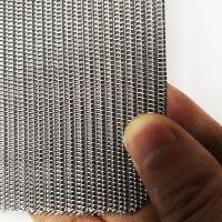 SS 316L Twill Weave Industrial Filter For Mining / Chemical / Food Industry Manufactures
