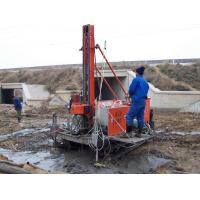 Single , Double Pipe Crawler Drilling For Jet - Grouting Full Hydraulic Manufactures