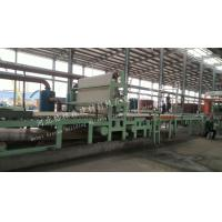 Quality Eco Friendly Mineral Wool Sandwich Panel Production Line Using Power Plant / Steel Plant for sale