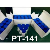 Legal Peptide Bremelanotide Powder PT-141/PT141 (10mg/vial) Human Growth Hormone Releasing Peptides Manufactures