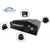 China RS232 720P 4G 4 / 8 channel dvr with hard drive, onboard cameras inputs, Bus Router on sale
