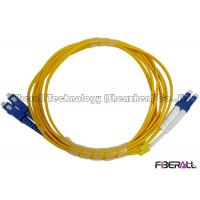 Premium High Return Loss optical fiber patch cord LC To SC Patch Cord For Telecom Manufactures